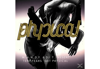 M.a.N.d.Y.  & DJ T. - Ten Years Get Physical - (CD)
