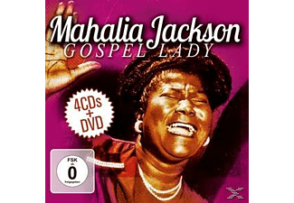Mahalia Jackson - Gospel Lady - (CD + DVD Video)