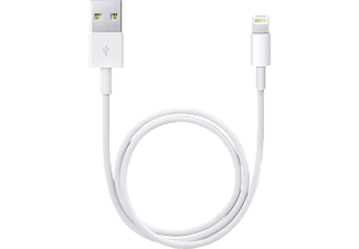APPLE Lightning-till-USB-kabel (0,5 m)