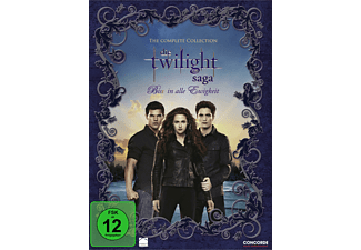 Die Twilight Saga - Bis(s) in alle Ewigkeit (The Complete Collection) [DVD]