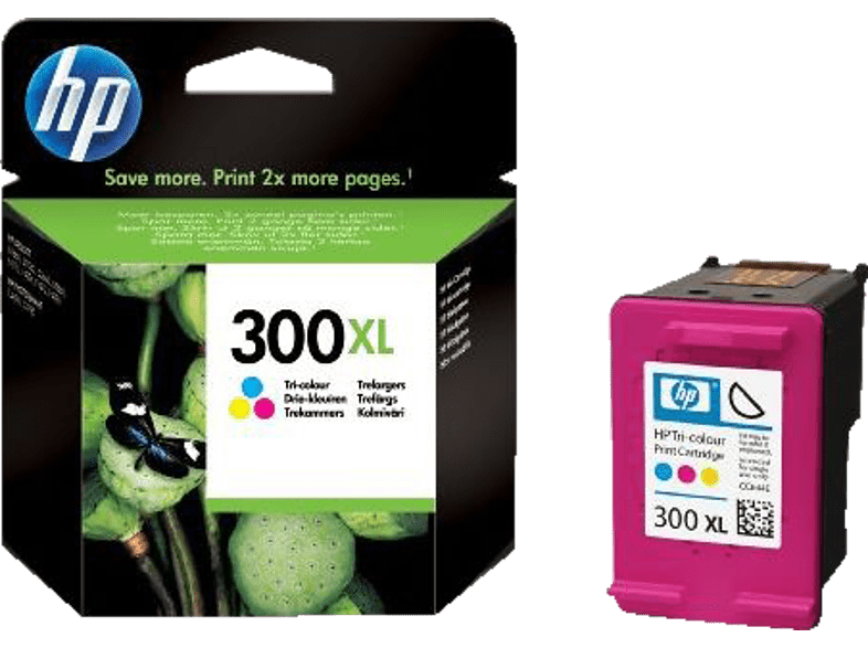 HEWLETT PACKARD 300XL Tri-colour Ink CC644E laptop  tablet  computing  εκτύπωση   μελάνια μελάνια  toner