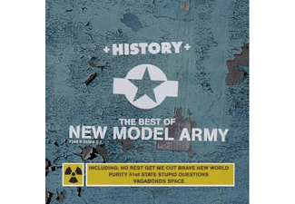 New Model Army - History - The Singles 85-91 (CD)