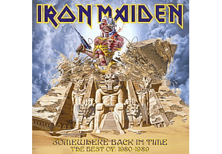 Iron Maiden - Somewhere Back In Time - The Best of 1980-1989 (CD)