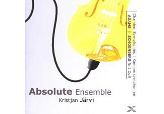 Absolute Ensemble - Kammersymphonien J.Adams/A. - (CD)