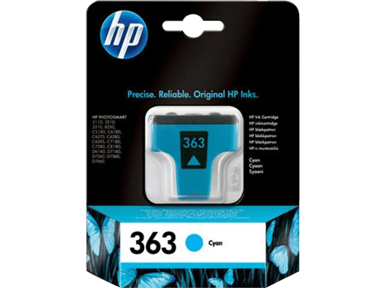 HEWLETT PACKARD Vivera 363 4ML Cyan - (C8771EE) laptop  tablet  computing  εκτύπωση   μελάνια μελάνια  toner computing   tablets
