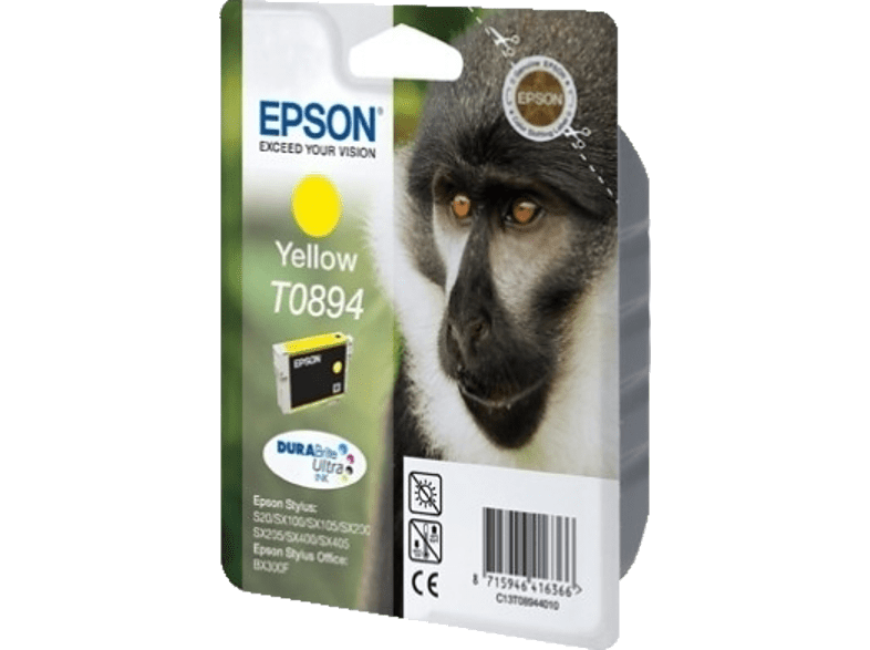 EPSON T089440 STYLUS Yellow laptop  tablet  computing  εκτύπωση   μελάνια μελάνια  toner