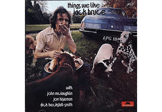 Jack Bruce - Things We Like (CD)