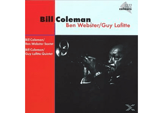 Coleman Bill - With Ben Webster/Guy Lafitte [CD]
