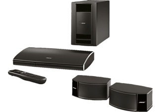bose 2 1 heimkino system lifestyle 235 ipod dock schwarz mediamarkt. Black Bedroom Furniture Sets. Home Design Ideas