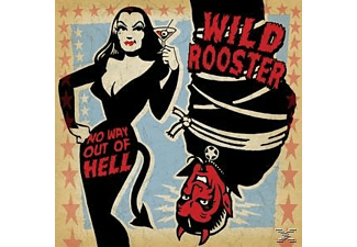 Wild Rooster - No Way Out Of Hell - (CD)