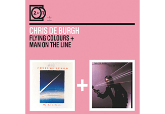Chris De Burgh - 2 For 1: Flying Colours/Man On The Line - (CD)