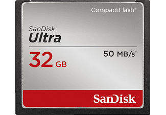 SANDISK Ultra Compact Flash Speicherkarte, 32 GB, 50 MB/s
