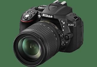nikon d5300 kit spiegelreflexkameras inkl objektiv 18 105 mm 24 2 megapixel mediamarkt. Black Bedroom Furniture Sets. Home Design Ideas