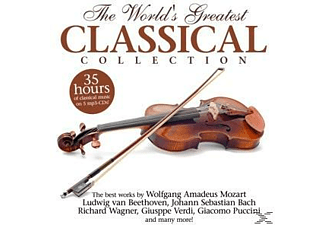 VARIOUS - Greatest Classical Collection.35 Hours Of Classica [CD]