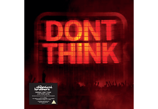 The Chemical Brothers - Don't Think (CD + DVD)