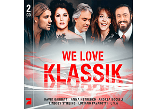 VARIOUS - We Love Klassik [CD]
