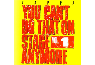 Frank Zappa - You Can't Do That On Stage Anymore, Vol.1 (CD)