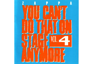 Frank Zappa - You Can't Do That On Stage Anymore Vol.4 (CD)