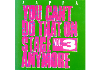 Frank Zappa - You Can't Do That On Stage Anymore Vol. 3 (CD)