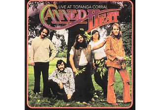 Canned Heat - Live At Topanga Corral CD (CD)