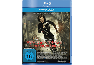 Resident Evil - Retribution Science Fiction Blu-ray 3D