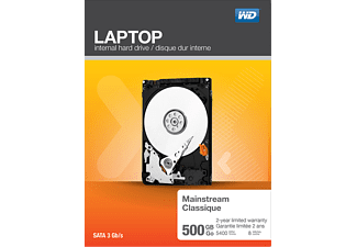 WD 500 GB Laptop Mainstream, Interne Festplatte, 2.5 Zoll