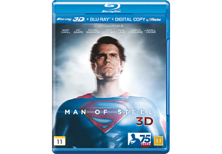 Man of Steel 3D Action Blu-ray 3D