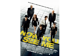 Now You See Me Thriller DVD