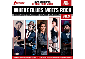 Various - Where Blues Meets Rock Vol.9 [CD]