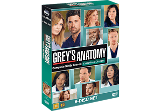 Grey's Anatomy S9 Drama DVD