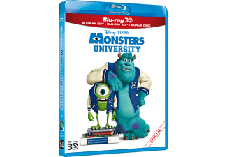 Monsters University 3D Animation / Tecknat Blu-ray 3D