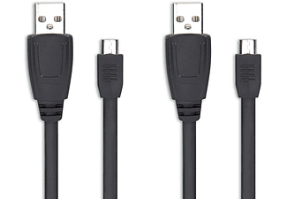 Stream play & charge cable set black PS4 (Speedlink)