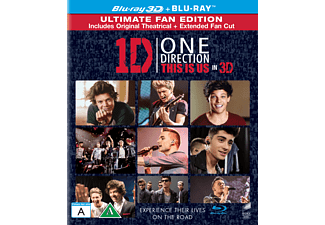 One Direction: This Is Us - 3D  Blu-ray 3D