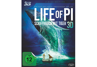 Life of Pi – Schiffbruch mit Tiger (3D) [3D Blu-ray (+2D)]