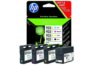 HP 932XL/933XL 4-pack