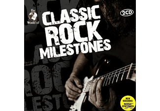 VARIOUS - Classic Rock Milestones [CD]
