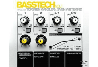 VARIOUS - Basstech Vol.1 Mixed By Kanzler & Wittekind - (CD)