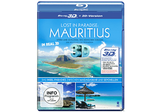 Lost in Paradise: Mauritius (3D) - (3D Blu-ray)