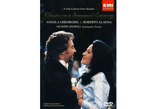 Angela Gheorghiu, Staatskapelle Dresden, Alagna Roberto - Classics On A Summer Evening - (DVD)