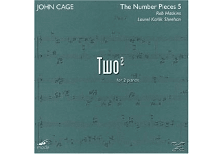 Rob Haskins, Rob/laurel Karlik Sheehan Haskins - Two-Number Pieces 5-Cage Ed.39 - (CD)