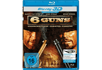 6 Guns (3D-Special Edition) [3D Blu-ray]