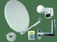 Allvision Digitale Vierteilnehmer Satellitenanlage