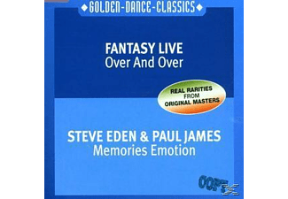 Fantasy Live-Eden,Steve & James, - Over And Over-Memories Emotion - (Maxi Single CD)
