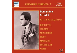 Beniamino Gigli - Camden And New York (Vol.5) [CD]