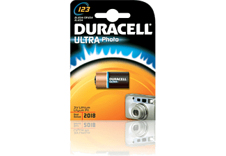 DURACELL Ultra Photo 123 3 Volt Pil