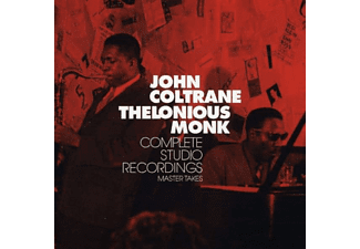 John Coltrane, Thelonious Monk - Complete Studio Recordings Master Takes (CD)