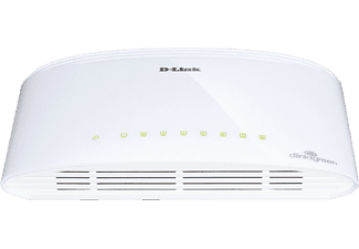 D-LINK 8-Port Gigabit Unmanaged Desktop Switch - (GS-1008D)