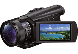 SONY HDR-CX 900 EB  Camcorder, Exmor R Sensor, Carl Zeiss, 12x opt. Zoom, Bildstabilisator, Near Field Communication, WLAN, Schwarz