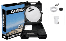 Allvision 9101320 Camping-Satellitenanlage (35 cm, Digitales Single-LNB)