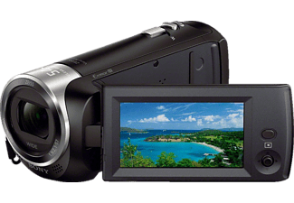 SONY HDR-CX 240 EB  Camcorder, Exmor R CMOS Sensor, Carl Zeiss, 27x opt. Zoom, SteadyShot, Schwarz